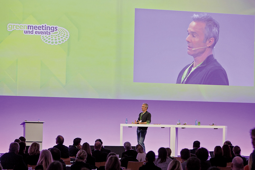 greenmeetings und events 2015 - Kap Europa Frankfurt - Hannes Jaenicke