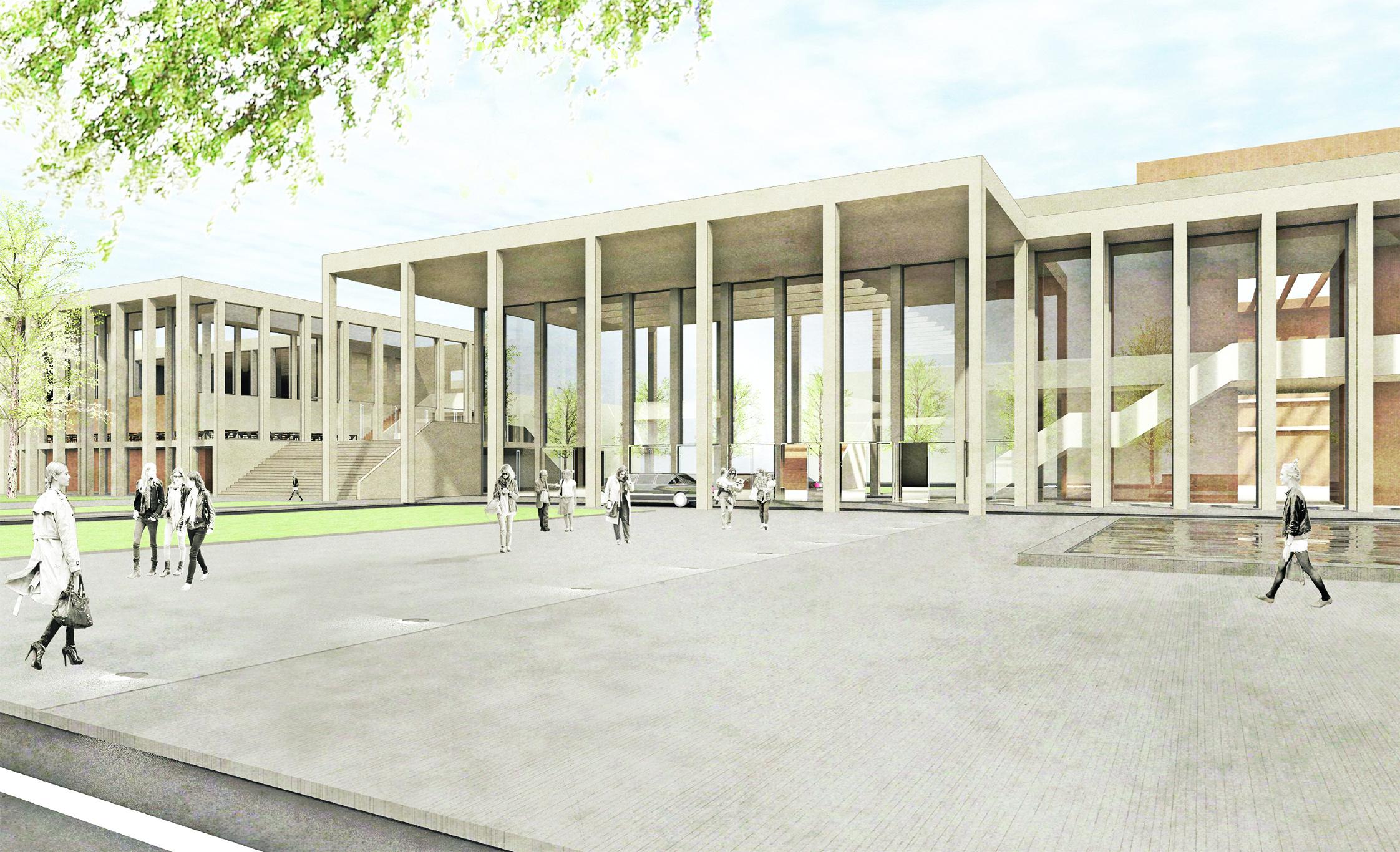 aus rhein main hallen wird rhein main congress center. Black Bedroom Furniture Sets. Home Design Ideas