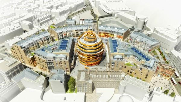 Das neue W Edinburgh wird im Jahr 2021 eröffnen. Abb.: Starwood Hotels & Resorts