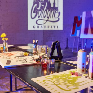 Interaktiv und kreativ heißt es beim Cologne Graffiti. Foto: welcome GmbH, Dieter Jacobi