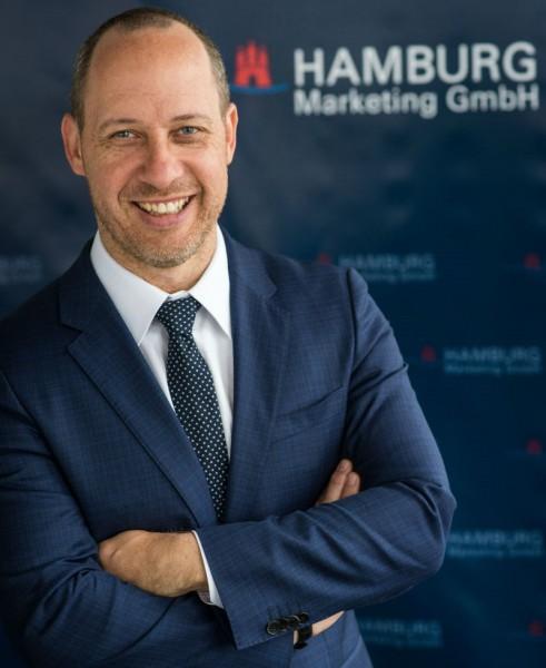 Michael Otremba wird neben Dr. Rolf Strittmatter zweiter Geschäftsführer des Hamburg Convention Bureaus. Foto: Bertold Fabricius.