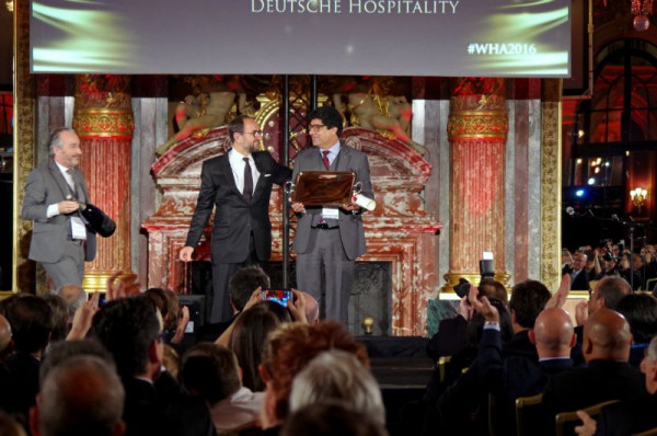 Puneet Chhatwal, CEO der Steigenberger Hotel Group, freute sich über die Auszeichnung. Foto: Steigenberger Hotel Group