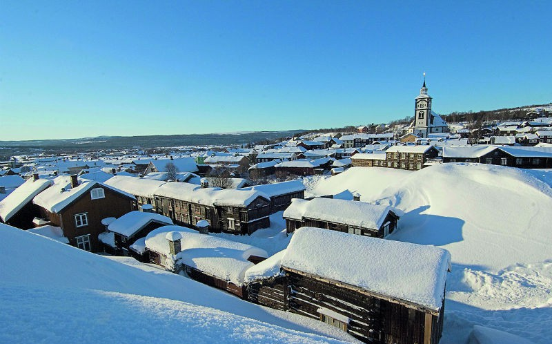 Røros: In the middle of Norway
