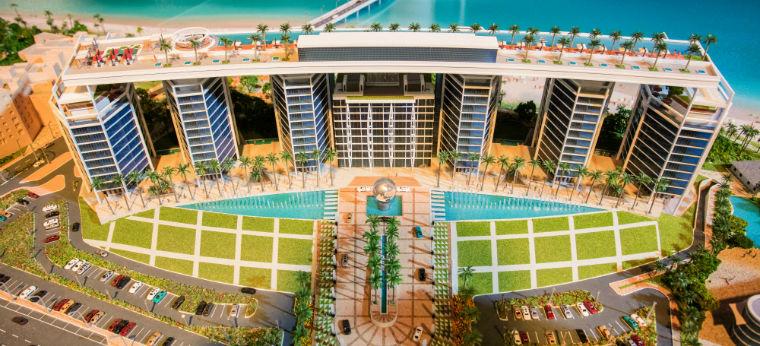 Das neueste Großprojekt in Dubai ist Teil der Strategie 20 Millionen Touristen bis 2020 nach Dubai zu locken. Foto: Marielle Stegkemper