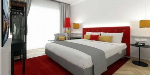 Sowohl lokalen Bezug als auch Design-Highlights mit Hinblick auf die Generation Y und Z werden beim Konzept im Niu Franz miteinander kombiniert. Fotos: NOVUM Hotel Group