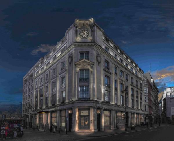 Das Haus am Trafalgar Square ist das erstes Curio Collection by Hilton in Großbritannien. Quelle: Curio Collection by Hilton