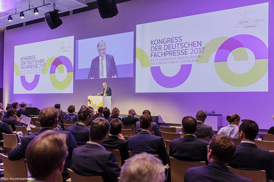 Kongress der Deutschen Fachpresse 2017 am 17.05.2017 in Frankfurt/Main /// Foto: Mo Wüstenhagen