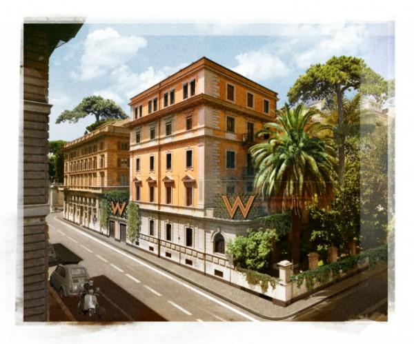 Das W Rom soll ab 2021 mit frechem Design, vibrierender Energie und einer pulsierenden Rooftop-Bar neuen Schwung in die Ewige Stadt bringen. Foto: W Hotels