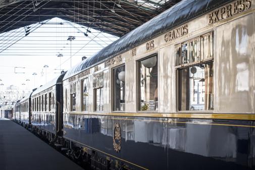 Der Orient-Express ist zeitloses Symbol für eine luxuriöse Art zu reisen, er verkörpert Kultur, Pracht und Eleganz. Foto: AccorHotels