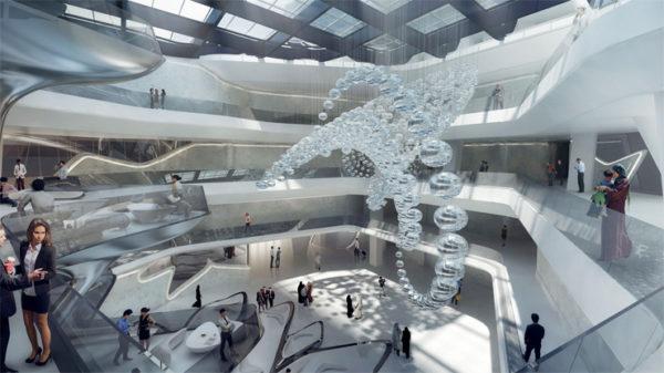 Das Von Zaha Hadid Konzipierte Me Dubai Eröffnet Ende 2018