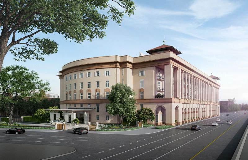 Kempinski er ffnet demn chst in myanmar convention for Design hotel yangon