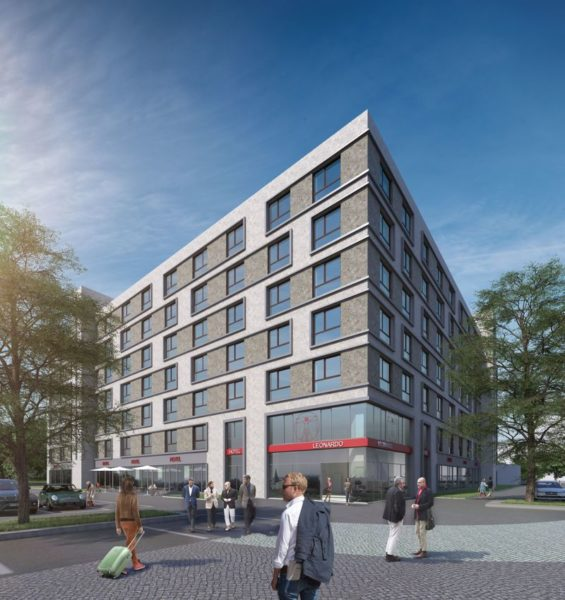 Rendering Leonardo Hotel Offenbach