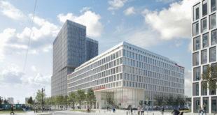 Außenrendering Leonardo Hotel Frankfurt Europaallee, Foto: Bloomimages