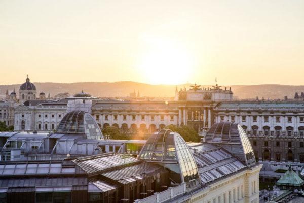 Blick auf die Hofburg Foto: WienTourismus_Christian Stemper