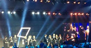 Große Showbühne für die Verleihung der BrandEx Awards