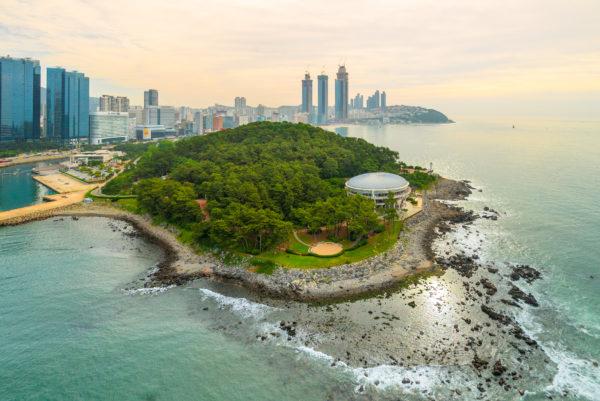 Busan Haeundae Dongbaekseom Island