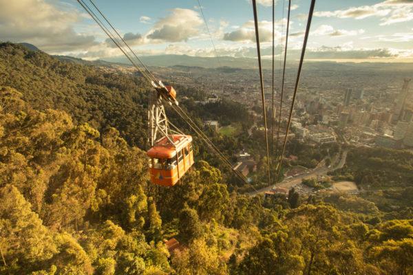 Teleferico de Monserrate Bogotá